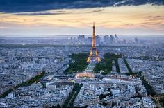 The one and only... The beautiful Paris.
