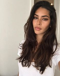 New Hair Long Dark Brown Eyebrows Ideas Hair Inspo, Hair Inspiration, Character Inspiration, New Hair, Your Hair, Brown Hair Colors, Pretty Face, Hair Goals, Curly Hair Styles