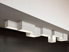 Modular ceiling lamp LINK XXL Link Collection by Vibia | design Ramón Esteve