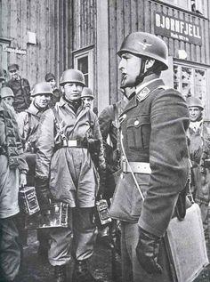German paratroopers at Narvik.
