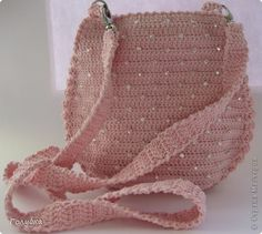 Beaded Handbag - Free Crochet Diagram - (stranamasterov)