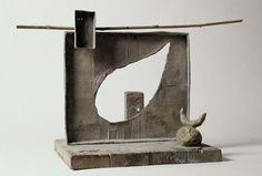 Joan Miró. Femme sur la place d'un cimetière (Mujer en la plaza de un cementerio), 1981-1983. Escultura. Colección Museo Nacional Centro de Arte Reina Sofía, Madrid