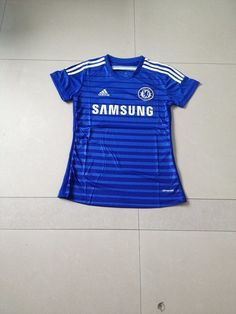 Thailand Quality Women Chelsea Home Football Shirts 2014/15