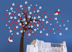 red white and blue nursery decor - Google Search