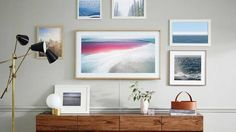 """This Samsung TV looks like framed art when you turn it off Read more Technology News Here --> http://digitaltechnologynews.com  Why does a TV need to look like a big black rectangle in your living room when it's turned off? It doesn't have to be that way.  That's the premise of Samsung's """"The Frame"""" TV which the company announced Tuesday would be available to consumers sometime this spring.   First debuted at CES 2017 the TV is designed to look like a framed photo when you're not binging…"""