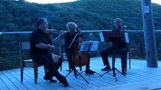 Grotte de la Salamandre, concert Archangel'Trio 15 Juillet 2014, trio baroque. Photo Marine Eveillard