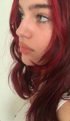 Dye My Hair, New Hair, Dyed Red Hair, Brown Blonde Hair, Red Hair Inspo, Aesthetic Hair, Pretty Hairstyles, Funky Hairstyles, Hair Looks
