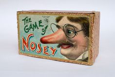 The Game of Nosey: the stuff of nightmares for 12 and under.