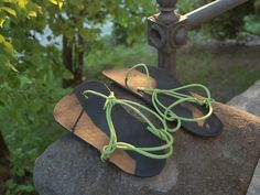 Barefoot sandals with rubber sole.