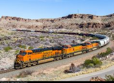 RailPictures.Net Photo: BNSF 6766 BNSF Railway GE ES44C4 at Kingman, Arizona by Chas Rossini