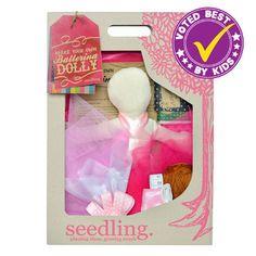 Make Your Own Ballerina Dolly – Seedling.