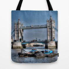 London Tower Bridge tote bag