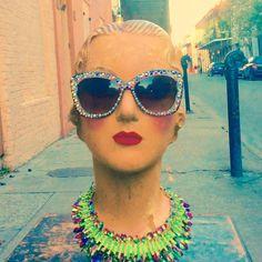 French quarter floozie strikes again in her fabulous sparkle shades.... #moonshinenettie #mardigras#carnival#mardigras2016 #swarovski #sparkles#glamourous #oldhollywood #floozy #parade#frenchquarter#followyournola#iheartnola#igersneworleans #nolastyle#letthegoodtimesroll #nolaliving #mannequin#vintagenola#vintageneworleans #neworleansvintage #chartresstreet #neworleans#thatlacommunity  Moonshine Nettie is located in the heart of the French quarter by moonshinenettie