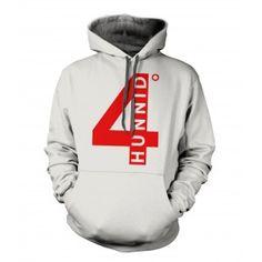 I want this jacket soooo bad  4 Hunnid Degreez Hoodie Red Print