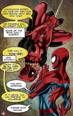 Deadpool_Spiderman
