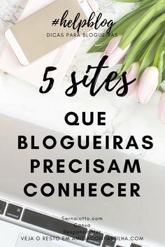 Aprenda sobre SEO, divulgação e design com 5 sites imprescindíveis para blogueiras!