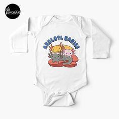 Solid colors are 100% cotton; heathered and marled fabrics are 88% cotton, 12% polyester Lapped shoulder seam for easy dressing . #weperceive #weperceivestyle #axolotls #axolotl #walkingfish #illustrationdesign #graphicillustration #axolotllove #axolotllover #babyonepiece #babyapparel #babysleeper #buybabyapparel #babyfashion #babyfashions #babystyletips #babybodysuit #newborngown #babyshowergift #babygift #babybodysuits #pinkbabyclothes #yellowbaby #yellowbabyclothes #designoftheday