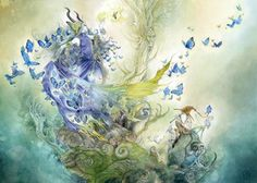 """Sipping Tea with your Muse - An article about inspiration, practice, and gaining confidence with your artistic expression of choice. """"Only by fostering a facility with the vocabulary of your artistic medium of choice, can you begin to really free yourself to be open to being creative with it. The size of that vocabulary...."""" Stephanie Pui-Mun Law - Shadowscapes"""