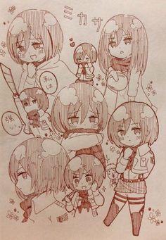 Armin, Mikasa X Eren, Sword Art Online, Mikasa Chibi, Death Note, Anime Manga, Anime Art, Dibujos Anime Chibi, Otaku