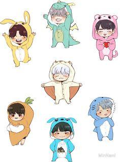 «~ BTS 4th Muster Stickers! ~» de MinNami