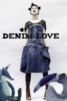 For the love of denim - Maison Indigo! http://knuffelsalacarteblog.blogspot.nl/