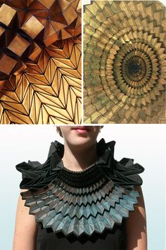 ORIGAMI ARTIST AND FREELANCE INSTRUCTOR IN SINGAPORE: ORIGAMI MEETS FASHION