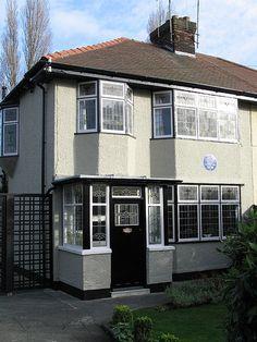 John Lennon's childhood home. Liverpool England. Scott Bergey