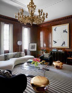 Decorating Legend François Catroux Breathes New Life Into Crown Princess Marie-Chantal's Manhattan Town Home | Architectural Digest