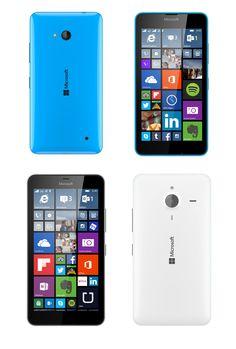 Microsoft Lumia 640 (top) and 640 XL (bottom)