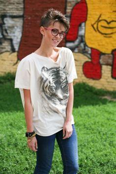 Tiger top Tiger T Shirt, T Shirts For Women, Animal, Mens Tops, Fashion, Moda, Fashion Styles, Animals, Fashion Illustrations