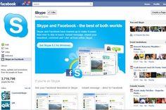 Facebook lancerer Skype-chat
