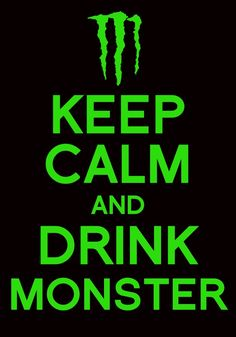 Keep Calm and Drink Monster! calorie Rehab Green Tea, that is!) love this baby Keep Calm and Drink Monster! calorie Rehab Green Tea, that is!) love this baby Monster Room, Monster Energy Girls, Monster Energy Drink Logo, Bebidas Energéticas Monster, Best Energy Drink, Monster Crafts, Drinks Logo, Keep Calm And Drink, Keep Calm Quotes