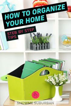 Want to get organized, but not sure how? Check out this simple step by step process for how to organize any area of your home! These tips and ideas will help you declutter, purge, and organize your way to bliss! Declutter Your Home, Organizing Your Home, Organizing Ideas, Bill Organization, Entryway Organization, Organized Entryway, Entry Closet, Record Storage, Getting Organized
