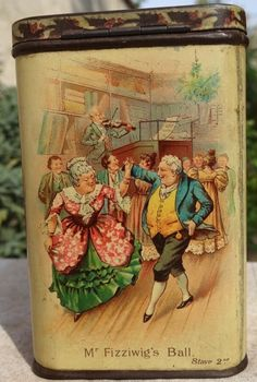 1897 'A Christmas Carol' by Charles Dickens tin Christmas Time Is Here, Christmas Carol, Carlisle, Art Deco Kitchen, Photo Images, Tin Containers, Art Nouveau, Old Fashioned Christmas, Vintage Tins