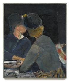 Two Women At Table, 1963 Richard Diebenkorn