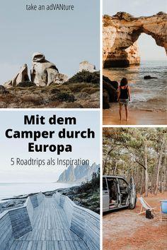 Roadtrips in Europa ermöglichen es uns die unglaubliche Vielfalt unseres Kontinents ganz individuell zu entdecken. In diesem Artikel stelle ich dir 5 mögliche Ziele vor, von Nord nach Süd, für deine Roadtripplanung als Inspiration - mit dem Fokus auf ganz viel Natur, Meer und Berge / Europa Roadtrip / Europa Roadtrip Route / #takeanadVANture Lofoten, Roadtrip Europa, Reisen In Europa, Andalusia, Campervan, Outdoor Camping, Van Life, Mount Rushmore, Road Trip