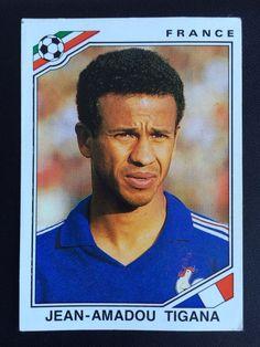 Panini World Cup Mexico 1986 FIFA Jean Amadou Tigana France  | eBay
