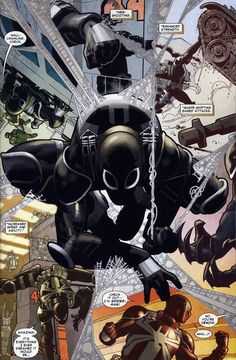 Amazing Spider-Man #654 :: Eugene Thompson / Agent Venom - Art by Paulo Siqueira, colors by Fabio D'Auria