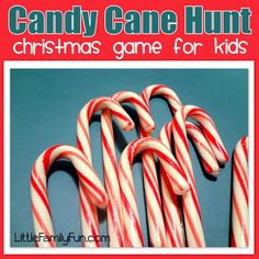 we can hide candy canes around the house and whoever finds the most throughout the night gets a lil prize!