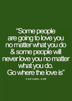 """Always go where the love is """"MI AMOR""""!"""