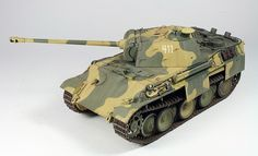 Panther G Final Production. 11th Panzer Division.