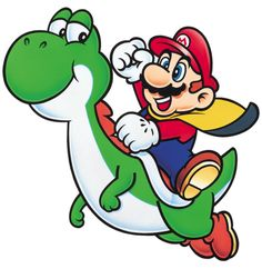 Mario and Yoshi | Super Mario World