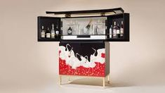 Image result for luxury drinks cabinet Drinks Cabinet, Liquor Cabinet, Studio Furniture, Furniture Makers, Joinery, Craftsman, Solid Wood, Traditional, Luxury