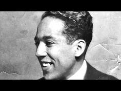 "Original recording of Langston Hughes reading his poem ""The Negro Speaks of Rivers."""