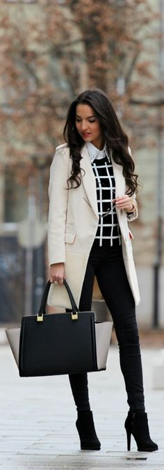 OutFit Ideas - Women look, Fashion and Style Ideas and Inspiration, Dress and Skirt Look Fashion Mode, Office Fashion, Street Fashion, Corporate Fashion Office Chic, Corporate Chic, Lawyer Fashion, Net Fashion, Fashion Stores, Vogue Fashion