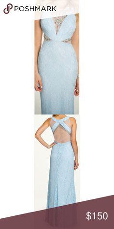 Prom Dress Light blue size 4-6 worn once Dresses Prom