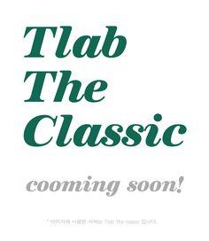 [박윤정&타이포랩] 신규서체! Tlab TheClassic !!   #더클래식 #서체 #박윤정앤타이포랩 #Type #Font #TheClassic