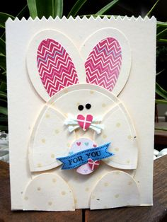 Spring Blossom Musings: Easter Gift Boxes - Punch Art & Photo Heavy