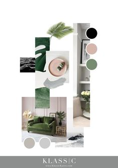 IMI&CO Moodboard // Pink and Green Colour Palette // Minimalist // Interior Mood. IMI&CO Moodboard // Pink and Green Colour Palette // Minimalist // Interior Moodboard // Styling // Green Colour Palette, Green Colors, Tableaux D'inspiration, Mood Board Interior, Interior Design Presentation, Scandinavian Style, Minimalist Interior, Colour Schemes, Portfolio Design