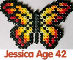 Butterfly perler beads - Perler® | Gallery